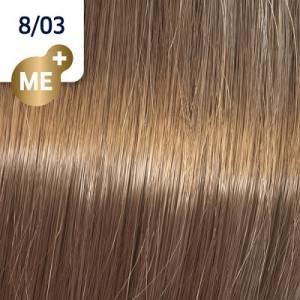 Wella Koleston Perfect ME+ 8/03 Hellblond Natur Gold 60 ml Pure Naturals