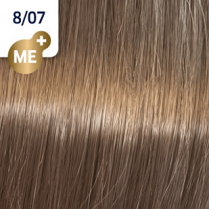 Wella Koleston Perfect ME+ 8/07 hellblond natur braun 60 ml Pure Naturals
