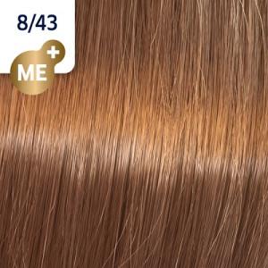 Wella Koleston Perfect ME+ 8/43 hellblond rot-gold 60 ml Vibrant Reds