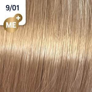 Wella Koleston Perfect ME+ 9/01 lichtblond natur-asch 60 ml Pure Naturals