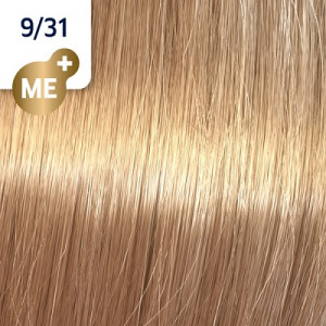 Wella Koleston Perfect ME+ 9/31 Lichtblond Gold-Asch 60 ml Rich Naturals
