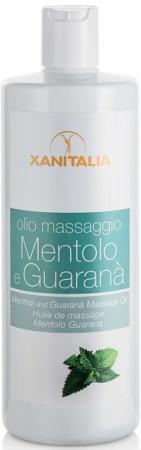 Xanitalia Massageöl mit Menthol und Guarana 500 ml