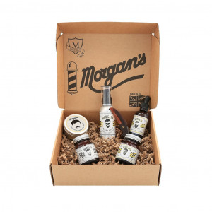 Morgan´s Moustache & Beard Gift Set