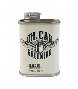 Oil Can Grooming Retro Design Bartöl Angels Share 50 ml