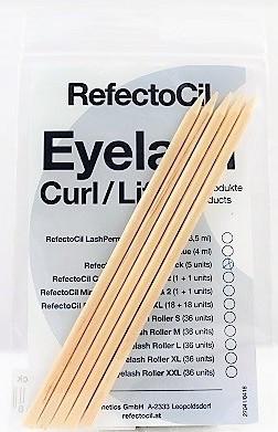Refectocil Eyelash Perm Curl Refill Rosenholzstäbchen 5 Stück
