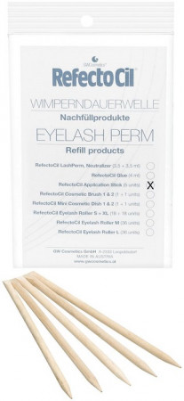 Refectocil Eyelash Curl & Lift Refill Rosenholzstäbchen