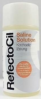 RefectoCil Saline Solution Kochsalzlösung für Augenbrauen- und Wimpernfarbe & Eye Lash Curl 150 ml