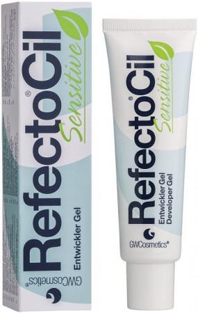Refectocil Sensitive Entwickler Gel für Augenbrauen-und Wimpernfarben 60 ml