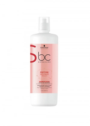 Schwarzkopf BC Peptide Repair Rescue Deep Nourishing Shampoo 1000 ml