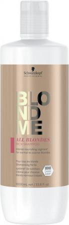 Schwarzkopf Blondme All Blondes Rich Shampoo 1000 ml
