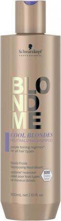 Schwarzkopf Blondme Cool Blondes Neutralizing Shampoo 300 ml
