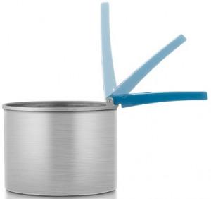 Wachstopf mit Faltgriff für Wachsdosen 400 ml