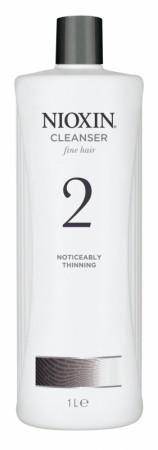 *Wella Nioxin System 2 Cleanser Shampoo 1000 ml
