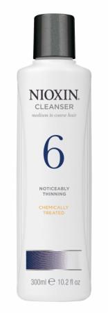 *Wella Nioxin System 6 Cleanser Shampoo 300 ml
