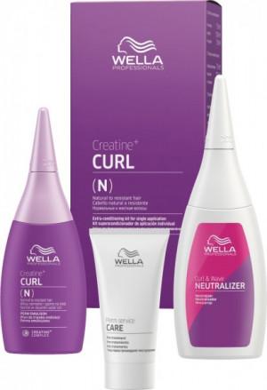 Wella Professionals Creatine + Curl N/R Hair Kit 75+100+30 ml