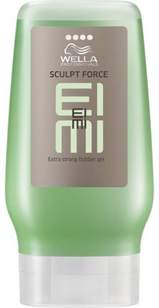 Wella EIMI Sculpt Force Flubber Gel extra stark 250 ml XXL