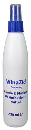 WinaZid Hände- und Flächen-Desinfektionsmittel 250 ml